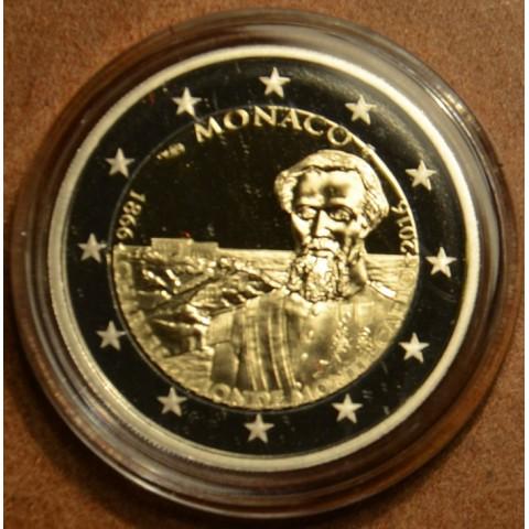 2 Euro Monaco 2016 - Karol III a 150. výročie založenia Monte Carla (Proof)