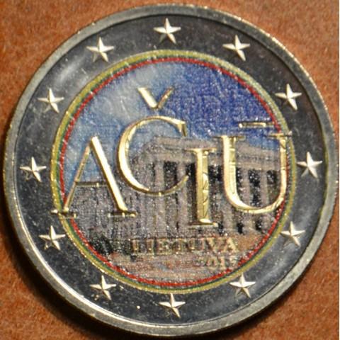 2 Euro Litva 2015 - Aciu: litovský jazyk V. (farebná UNC)