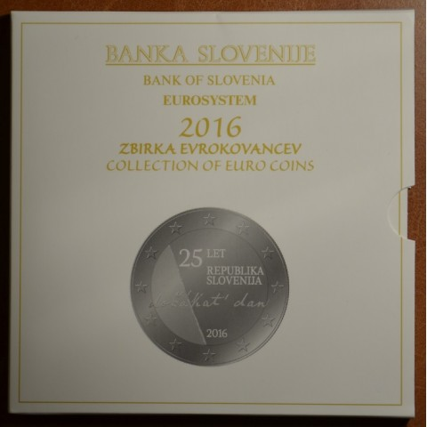 Set of 10 coins Slovenia 2016 (BU)