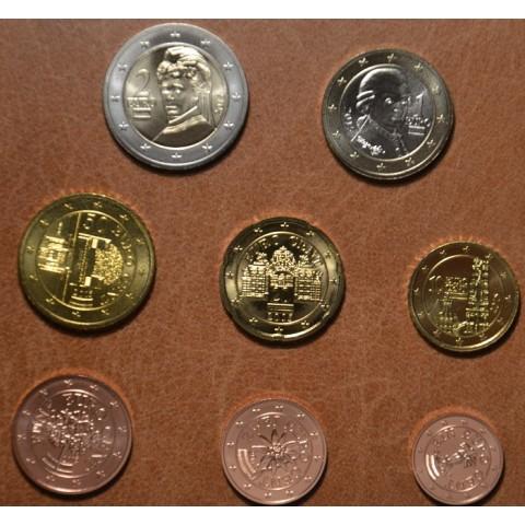 Set of 8 coins Austria 2015 (UNC)