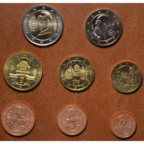 Set of 8 coins Austria 2012 (UNC)