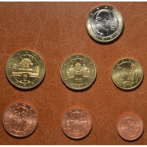 Sada 7 rakúskych mincí 2009 (UNC)