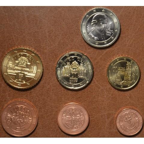 Set of 7 coins Austria 2007 (UNC)