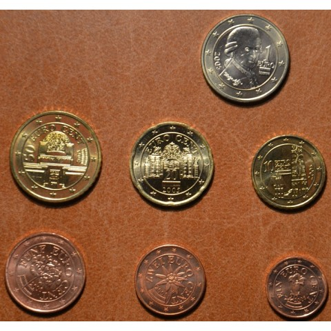 Set of 7 coins Austria 2005 (UNC)