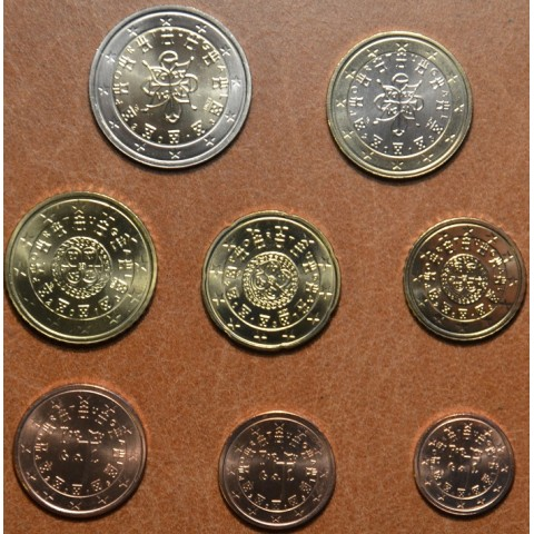 Set of 8 coins Portugal 2013 (UNC)
