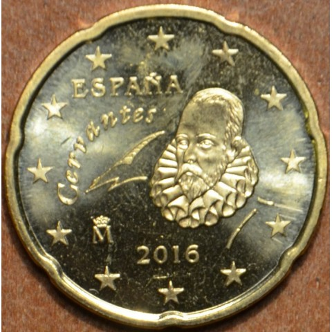 20 cent Spain 2016 (UNC)