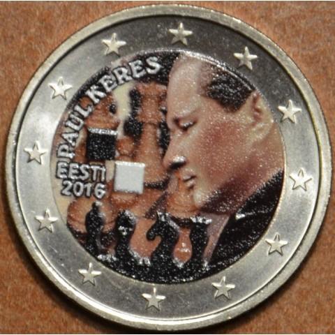2 Euro Estonia 2016 - Paul Keres V. (colored UNC)