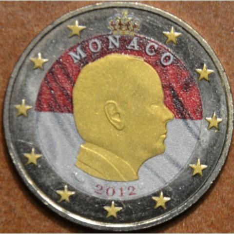2 Euro Monaco 2012 (colored UNC)