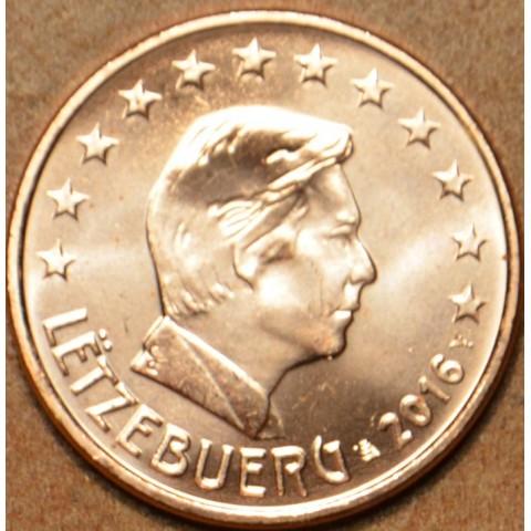 1 cent Luxembursko 2016 (UNC)
