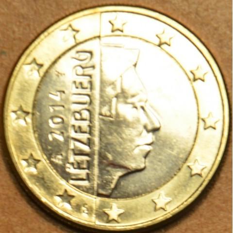 1 Euro Luxembursko 2014 (UNC)