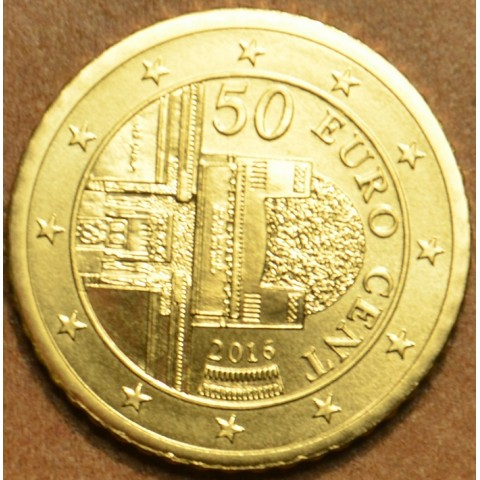 50 cent Rakúsko 2016 (UNC)