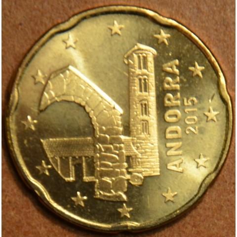 20 cent Andorra 2015 (UNC)