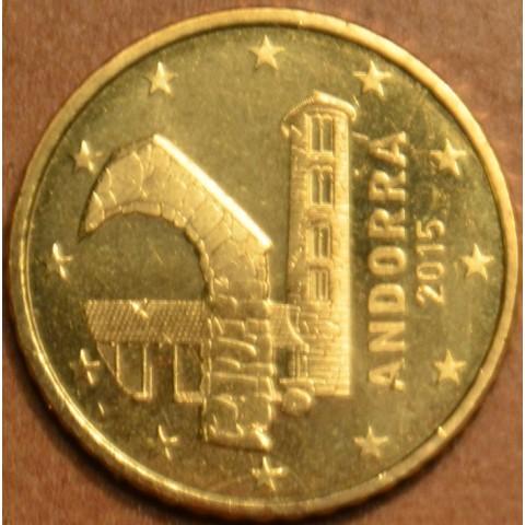 50 cent Andorra 2015 (UNC)