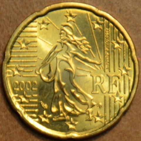 20 cent France 2002 (UNC)