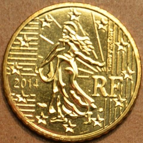 10 cent Francúzsko 2014 (UNC)
