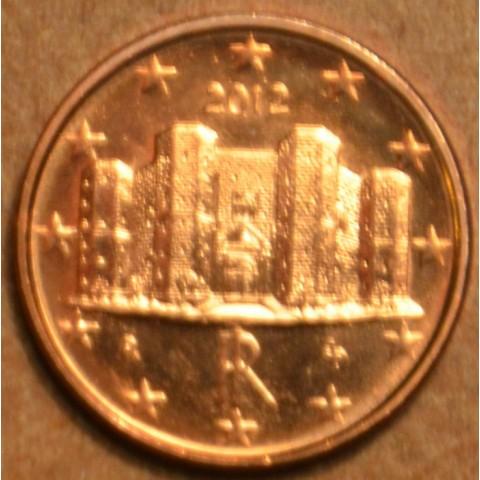 1 cent Taliansko 2012 (UNC)