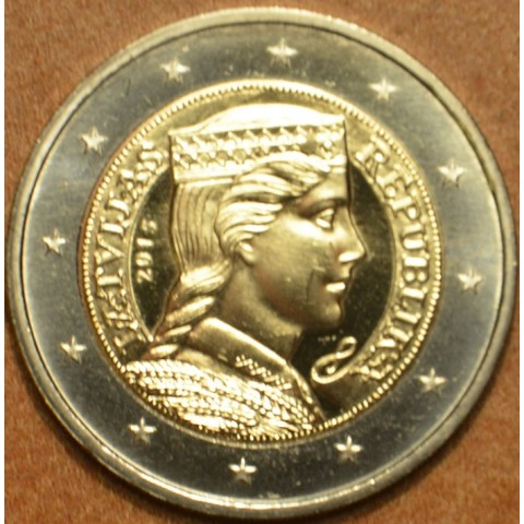 2 Euro Lotyšsko 2015 (UNC)