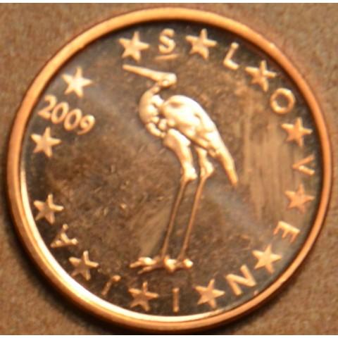 1 cent Slovinsko 2009 (UNC)