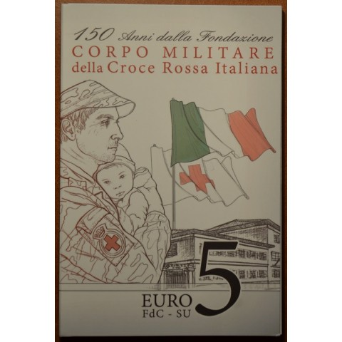 5 Euro Italy 2016 - Red cross (BU card)