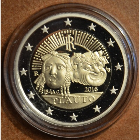 2 Euro Italy 2016 - 2200th anniversary of the death of Plautus  (Proof)