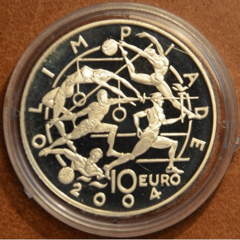5 Euro San Marino 2003 - Summer olympic games (Proof)