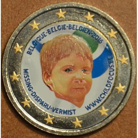 2 Euro Belgicko 2016 - Dieťa v núdzi II. (farebná UNC)
