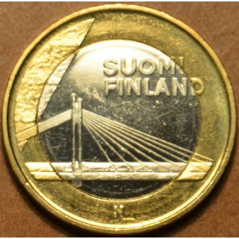 5 Euro Finland 2012 - The Lumberjack's Candle Bridge (UNC)