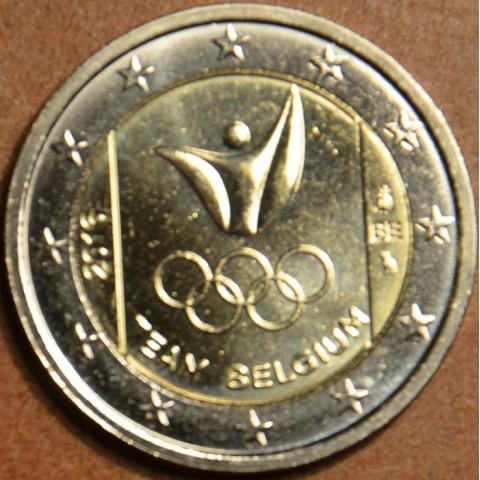 2 Euro Belgicko 2016 - Olympijský team Belgicka  (UNC)