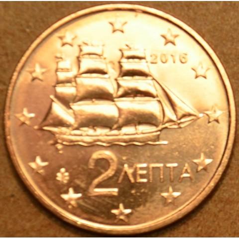 2 cent Grécko 2016 (UNC)