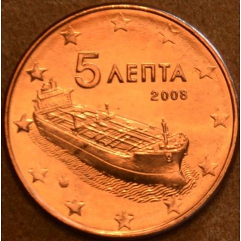 5 cent Greece 2008 (UNC)