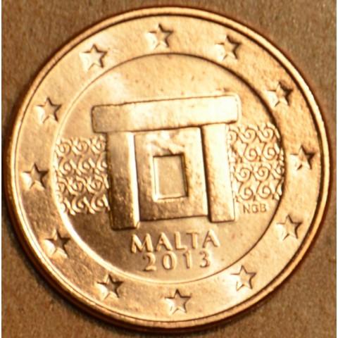 2 cent Malta 2013 (UNC)