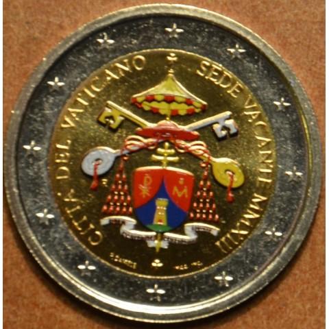 2 Euro Vatican 2013 - Sede Vacante (colored UNC)