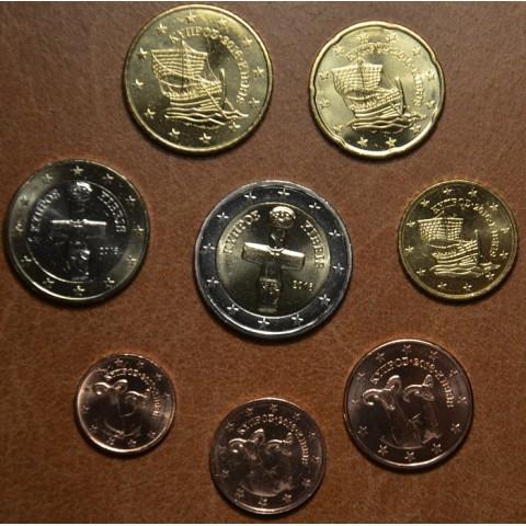 Set of 8 eurocoins Cyprus 2016 (UNC)
