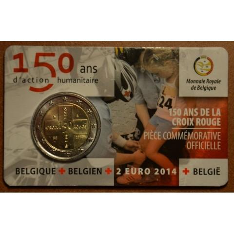 2 Euro Belgium 2014 - 150th Anniversary of the Belgian Red Cross (BU)