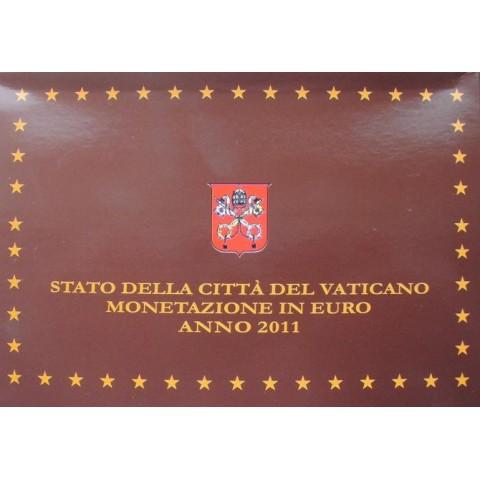 Sada 8 mincí Vatikán 2011 + Ag medaila (Proof)