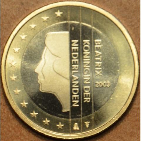 1 Euro Holandsko 2003 - Kráľovná Beatrix (UNC)