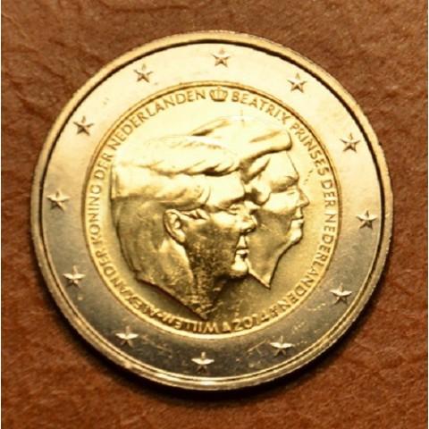 2 Euro Holandsko 2014 - Dvojportrét (UNC)