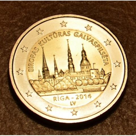 2 Euro Lotyšsko 2014 - Riga Európske mesto kultúry (UNC)