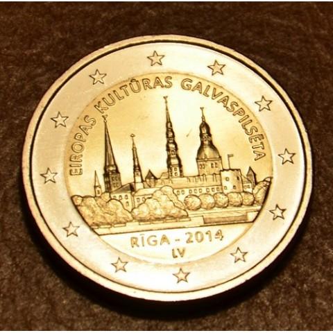 2 Euro Latvia 2014 - Riga European Capital of Culture (UNC)