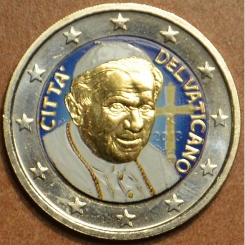 2 Euro Vatican 2013 - Benedict (colored UNC)