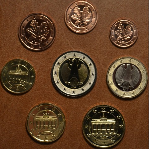"""Set of 8 coins Germany 2014 """"A"""" (UNC)"""
