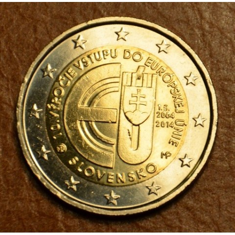 2 Euro Slovakia 2014 - 10 years in EU (UNC)