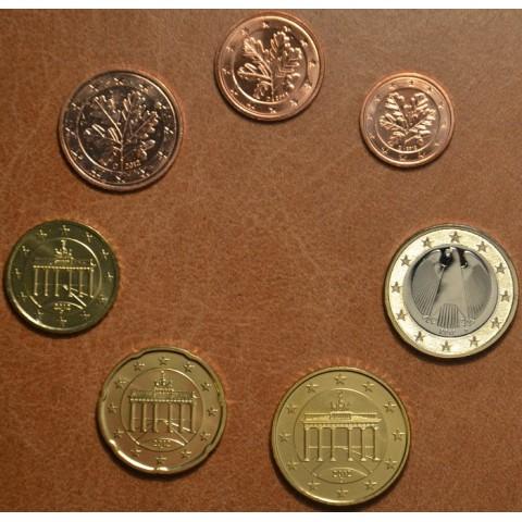 """Sada 7 nemeckých mincí 2012 """"A"""" (UNC)"""
