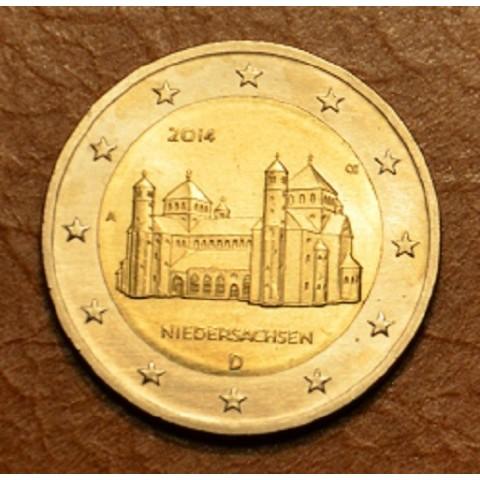 """2  Euro Nemecko """"F"""" 2014 - Zámok Niedersachsen (UNC)"""