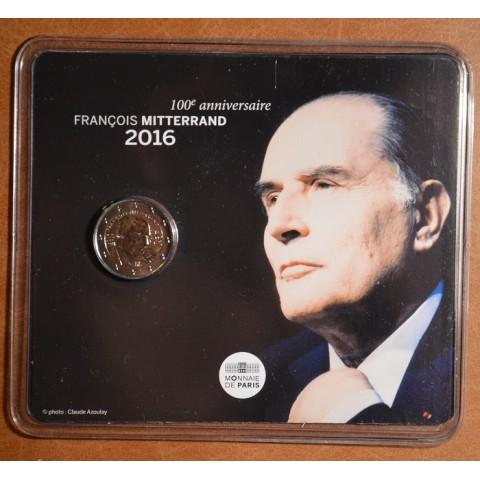 2 Euro France 2016 - Francois Mitterrand (BU card)