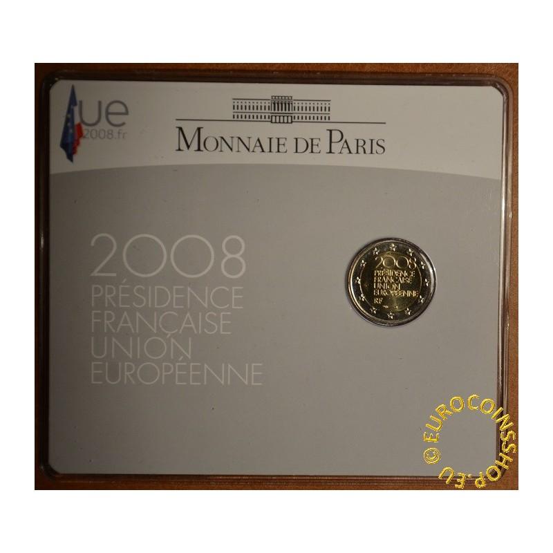 Eurocoin Eurocoins 2 Euro France 2008 French Presidency Of The Co