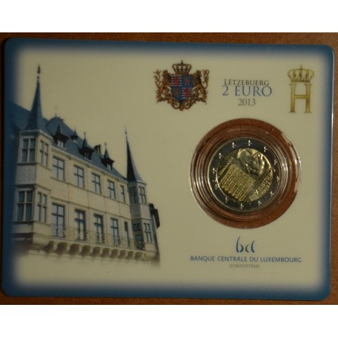 2 Euro Luxembourg 2013 - National Anthem (BU card)
