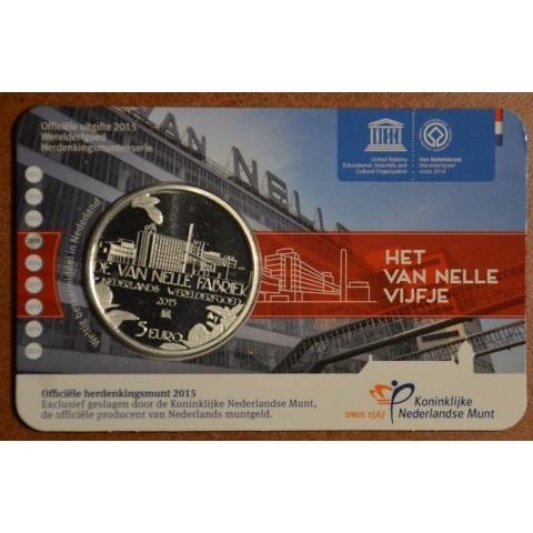 5 Euro Netherlands 2015 Nellefabriek (UNC card)