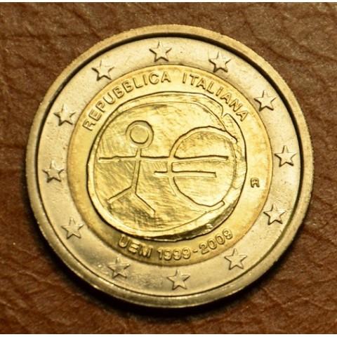 2 Euro Taliansko 2009 - 10. výročie hospodárskej a menovej únie  (UNC)