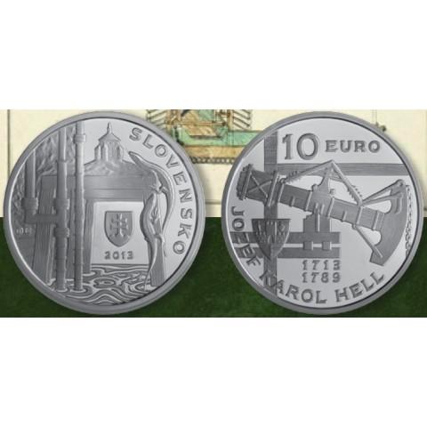 10 Euro Slovakia 2013 - Jozef Karol Hell (BU)
